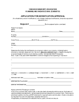Application For Modification Approval
