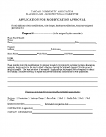 Application for Modification